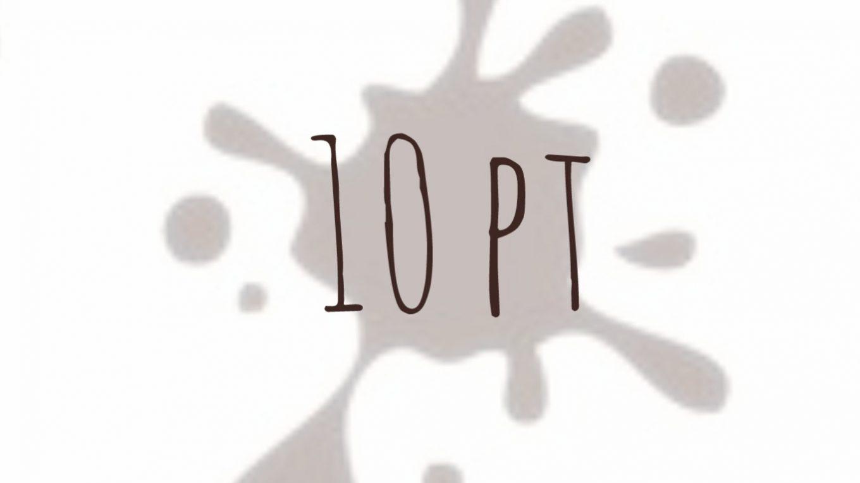 10 pt - macchie marroni